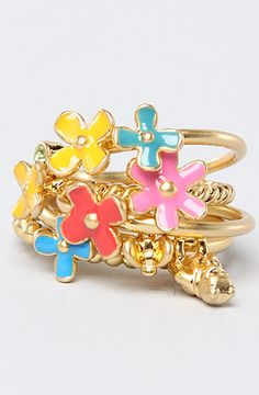 Disney Couture Jewelry The Pooh Collection Layer Ring in Gold : Karmaloop.com - Global Concrete Culture