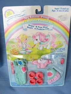 Now in my Etsy shop Country Jamboree MIP My Little Pony Megan and Pony Wear Country by mychildhooddolls, $15.00
