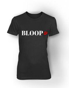 BLOOP w/ Lips - women's short sleeve tee – NENE LEAKES STORE