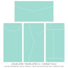 Envelope Templates 4 - Money {CU}