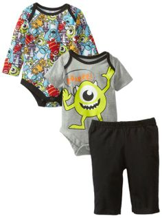 Amazon.com: Disney Baby Baby-Boys Newborn 2 Piece Boysuit with Pant Set-6: Clothing