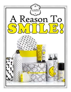 Reason to smile! Laline's Smiley limited edition
