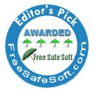 Music Memory Game: Editor's Pick Awarded 4 Stars by FreeSafeSoft.com