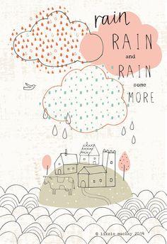 RAIN OVER THE HOUSE