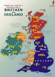 BRITISH ISLES MAP