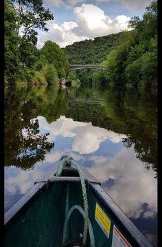 Ironbridge; river Severn. 11miles 💜