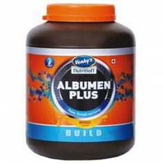 Albumen (Egg White) is Nature's Best source of Protein, which resembles to Serum Albumin so gets easily absorbed and utilized for muscle building
