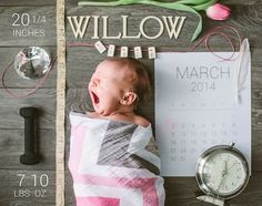 Newborn stats announcement