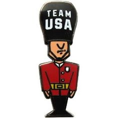 Price: $6.95 - London 2012 Team USA Palace Guard Pin - TO ORDER, CLICK ON PHOTO