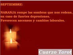 CALENDARIO ANUAL DE LAS VELAS Y SU COLOR   https://www.cuarzotarot.es/
