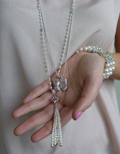 LAGOS Jewelry | Luna...♥....#EvolvingFashion #JewelryLayering #NecklaceLayering http://evolvingfashion-hair-nails-clothing.blogspot.com/