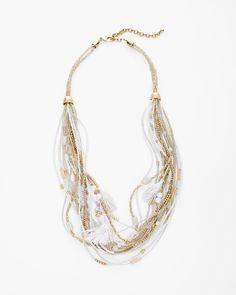 Chico's Fallon Multi-Strand Necklace  #chicos