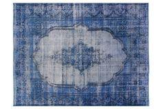 Indigo rug