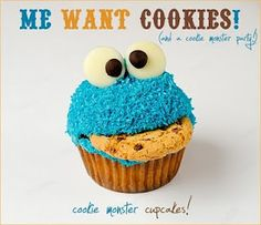 super cute! sesame street party favors? ill need someone good at cake decorating to make these for me
