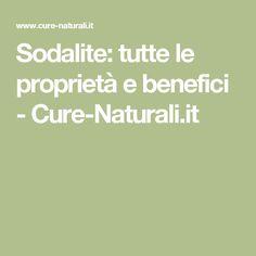 Sodalite: tutte le proprietà e benefici - Cure-Naturali.it