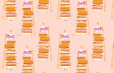 princess_and_the_pea fabric by heatherross on Spoonflower - custom fabric