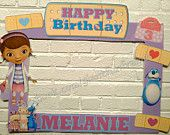 Doc Mcstuffins Frame / Photo Booth / Photo Prop / Party Frame