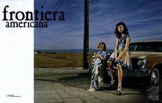 Marie Claire Italia Editorial Frontiera Americana, April 2007 Shot #1