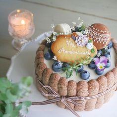Beautiful Cakes, Amazing Cakes, Macaron Cake, Kawaii Dessert, Dessert Decoration, Sweets Cake, Cake Flavors, Drip Cakes, Love Cake