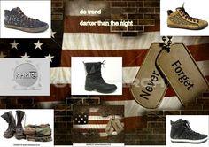 Bij deze trend draag je boots of sneakers met studs in donkere kleuren als zwart, bruin en violet
