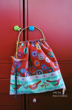 Mini sac oiseau 0199