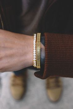 The quality and construction of these bracelets is unreal!rn