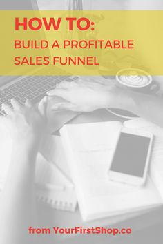 How To Build a Successful & Profitable Sales Funnel Inbound Marketing, Email Marketing, Content Marketing, Internet Marketing, Social Media Marketing, Digital Marketing, Creative Business, Business Tips, Online Business