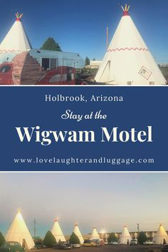 If you're traveling Route 66 in the Southwest or visiting Petrified Forest National Park, be sure to include a stay at the Wigwam Motel in Holbrook, Arizona in the United States. #route66 #arizona #UnitedStates #roadtrip #wigwammotel #familytrip #vacation