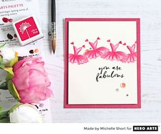 My Monthly Hero: Creativity in a Box April 2017 kit idea #1 by Michelle Short. Kit and add-ons available for purchase Monday, April 3. #mymonthlyhero