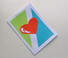 Love card love greeting card valentines card for by HVasilevShop Valentine Greeting Cards, Valentines, Love Cards Handmade, Interesting Stuff, Magazine, Eat, Shop, Beautiful, Valantine Day