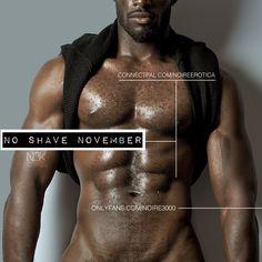 No Shave November, Black Men, Sexy, Movie Posters, Movies, Films, Film Poster, Black Man, Cinema