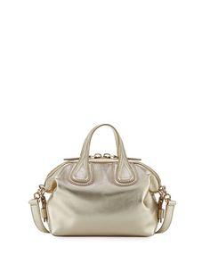Givenchy Nightingale Mini Leather Satchel Bag c994dfb1a9f5d