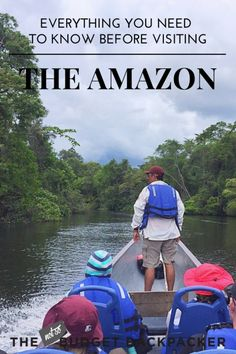 From pink dolphins to sloths, If you've booked a tour to the incredible Amazon in Ecuador or thinking about it, here's everything you need to know. // Things to do in the Amazon, Things to do in the Amazon Ecuador, Ecuador travel, the Amazon travel, 48 hours in the Amazon, Where to go in Ecuador, Things to do in Ecuador, What to do in the Galapagos, What to do in Ecuador
