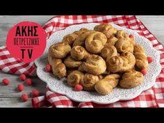 Πασχαλινά Σμυρνέικα κουλουράκια Επ. 41   Kitchen Lab TV - YouTube Greek Recipes, Easter Recipes, Sausage, Cookies, Meat, Chicken, Baking, Breakfast, Desserts