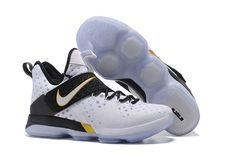 "a8070fe31c31 Men s Nike LeBron 14 ""BHM"" White Metallic Gold-Black 860634-100"