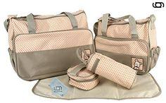 GARY&GHOST-0030A-Set 5 Kits Bolsa Maternal Cambiador a Ju...…