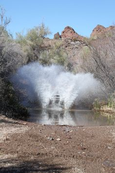 Parker, AZ...a hidden trail where the utv found water on the reservation