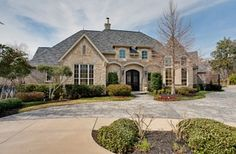 single story french country style homes - Google Search