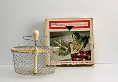 RESERVED / Vintage French Wire Basket / Salad by ThatsVintageBaby, $18.00