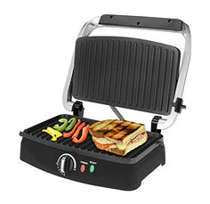 Kalorik SWP 39888 SS Kalorik Stainless Steel 2Slice Panini Grill Black -- Check out the image by visiting the link. (Amazon affiliate link)