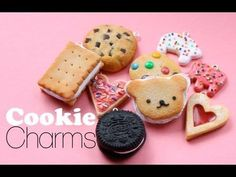 Scented Cookie Charms Video Tutorial for Fimo Polymer Clay