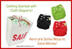 How to Cloth Diaper on a budget!