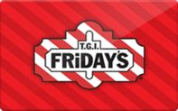Going out to eat? Why not save 27% off your meal next time at TGI Fridays ! Only at GiftCardio.com :)