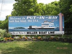 Image detail for -Miller Boat Line to Put-In-Bay, Port Clinton, United States