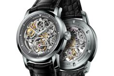 Platinum Vacheron Constantin Patrimony Traditionnelle 14-Day Tourbillon Openworked