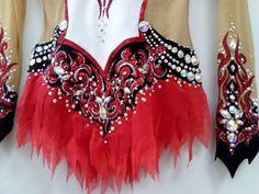 Justaucorps Red Little Skirt
