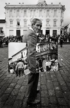 Graciela Iturbide, Señor de los espejos, Quito, Ecuador, 1984