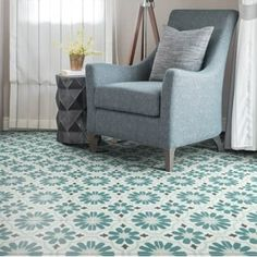 Ca'Pietra Cement Encaustic Cordoba Pattern Tile - Flooring from Period Property Store UK