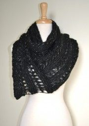 This asymmetrical chunky knit infinity loop circle scarf takes the perfect traditional infinity loop scarf to the next level. The pointy edge makes it uber stylish and versatile to wear. $24.99 Use code PINIT at checkout for 10% off your entire order.