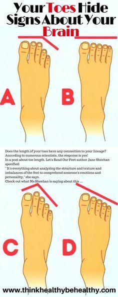 Your Toes Hide Signs About Your Brain